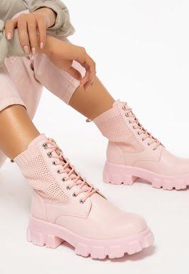 Γυναικείες Αρβύλες Anja ροζ