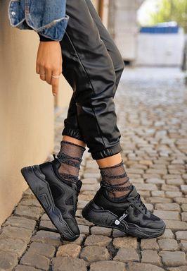 Γυνακεία Sneakers Arca Μαυρο